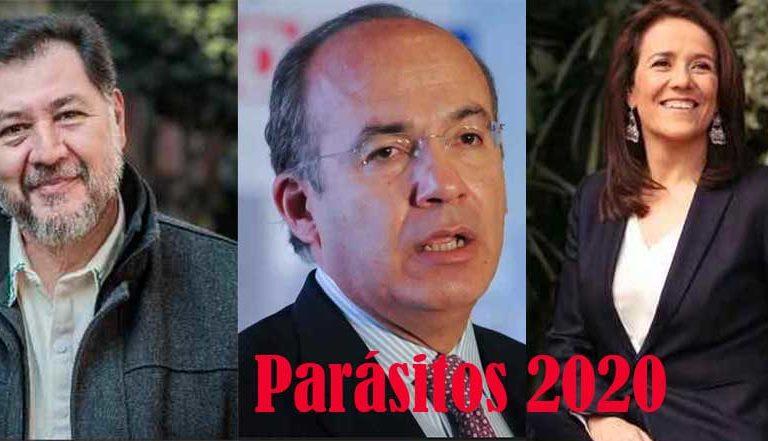 Calderón y Margarita Zavala ganaron el Oscar por Parásitos, mejor director Lorenzo Córdova: Noroña