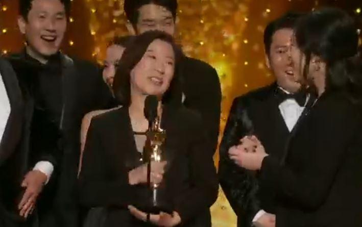 'Parásitos' de Corea del Sur, gana Oscar a Mejor Película del año