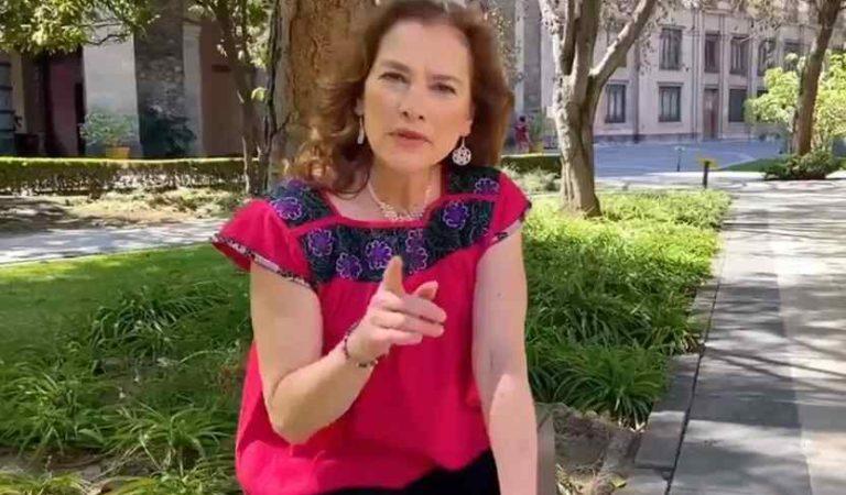 Beatriz Gutiérrez Muller pone privada su cuenta de Twitter por ataques