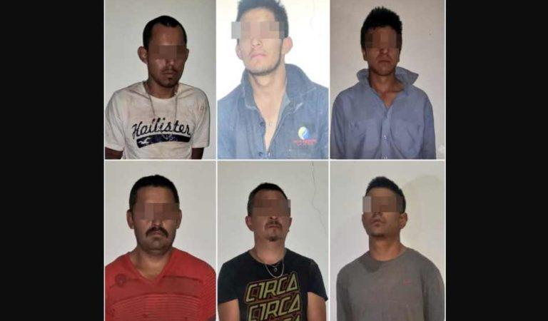 Decomisan armas y drogas; detienen a 13 ligados a asesinatos en Puebla
