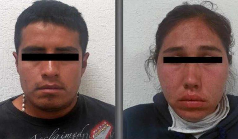 FGJEM detiene a pareja que organizaba saqueos vía Whatsapp en Tecámac