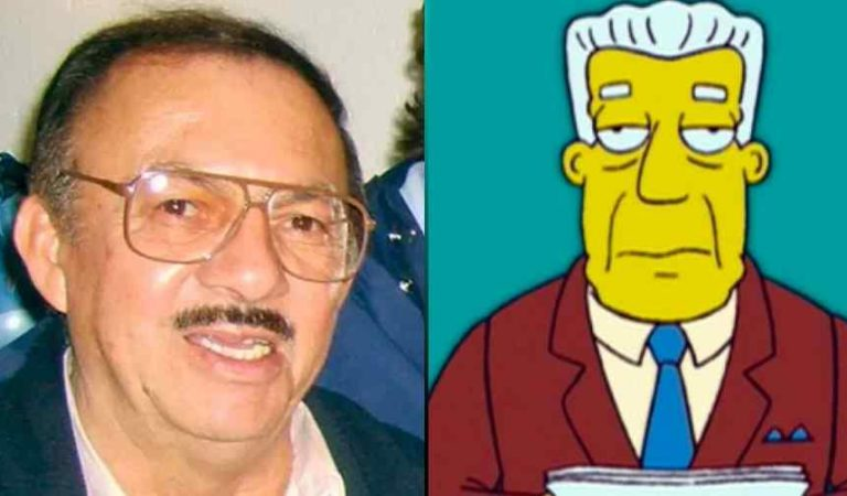 Muere a los 81 años Gonzalo Curiel, voz de Kent Brockman en Los Simpson