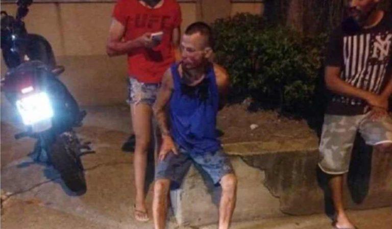 Hombre intentó asaltar a una joven; termina golpeado pues era luchadora de la UFC