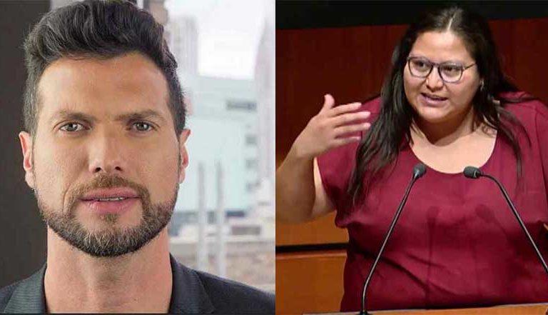 """Ponte a dieta"": exactor de Televisa insulta a senadora de Morena"