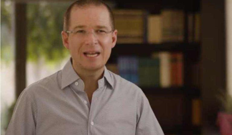 'No se trata de pelear con el presidente': Ricardo Anaya ante contingencia por coronavirus