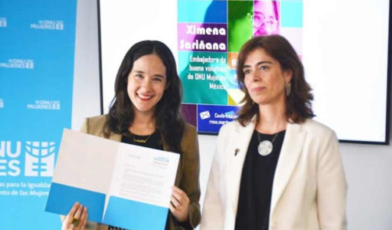 Nombran a Ximena Sariñana embajadora de Buena Voluntad en ONU Mujeres