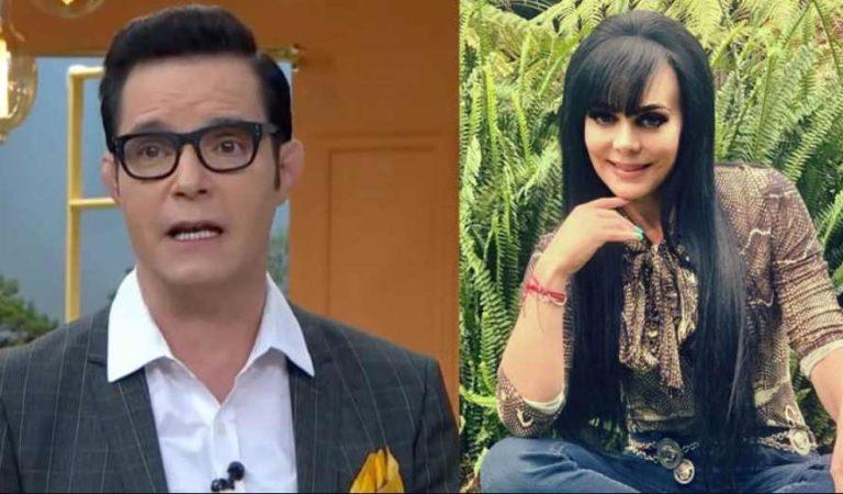 'Por muy guapa que esté es de la tercera edad': Horacio Villalobos a Maribel Guardia | VIDEO