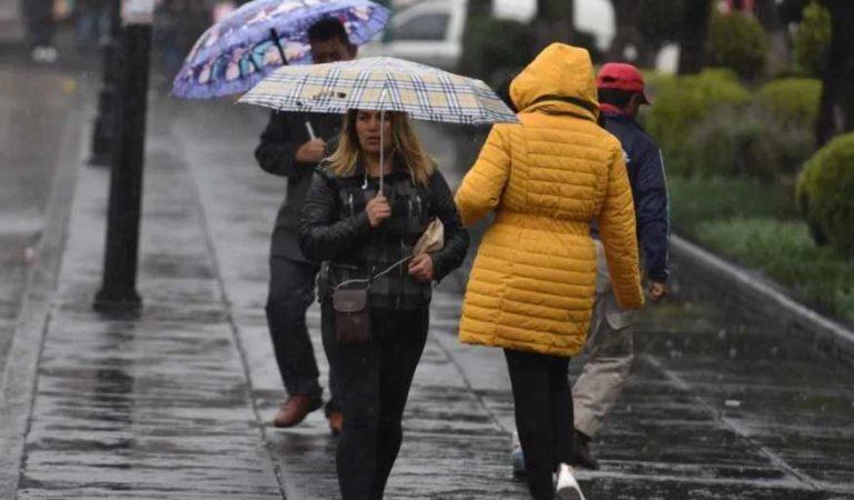 Prevén lluvias aisladas con descargas eléctricas y posibles granizadas en Edomex