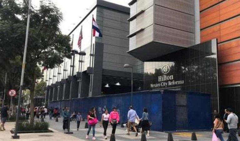 Protegen hoteles, monumentos y comercios del Centro Histórico por marcha del 8M