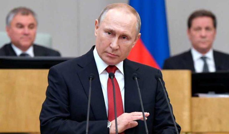 Putin reconoce que la relación entre EU y Rusia, se ha deteriorado en su punto mas bajo