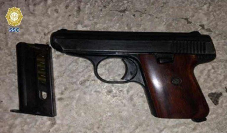 SSC detiene a presunto ladrón en Polanco