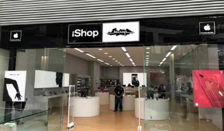 Ladrones entran por la azotea y roban tienda iShop; se llevan tabletas, teléfonos y accesorios