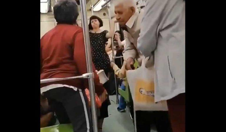 'Él no comprendía lo que pasaba': sobrina de abuelito de 94 años, bajado del Metro