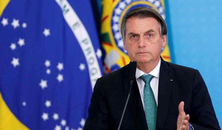 Algunos van a morir, lo siento, así es la vida: Bolsonaro sobre el Covid-19