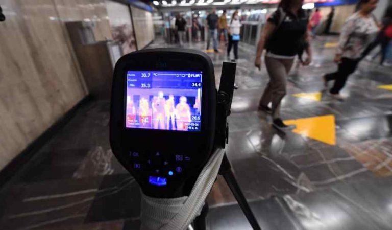 Metro instala cámaras termográficas para detectar a usuarios con posibles síntomas de Covid-19