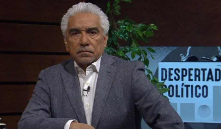 Ricardo Alemán culpa a AMLO y a Sheinbaum por accidente en Metro Tacubaya; lo tunden en redes