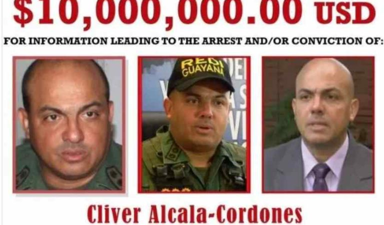 Exgeneral de Nicolás Maduro se entrega a agentes de la DEA