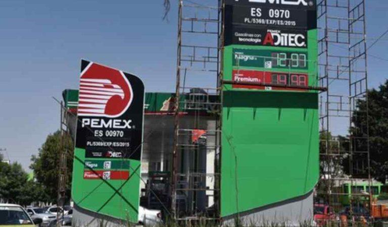 Gasolina continúan a la baja, se vende en menos de 13 pesos en Edomex