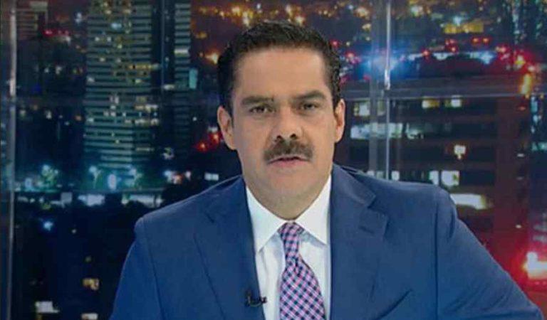 Javier Alatorre se equivoca en pleno noticiero; recomienda lavarse las manos con agua y jamón (video)