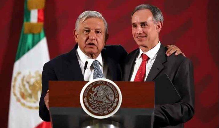 AMLO defiende a López-Gatell de MC: 'se están queriendo montar en una tragedia'