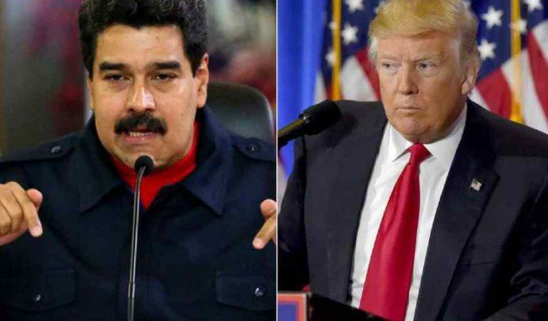 """""""Eres un miserable"""": Nicolás Maduro a Trump tras acusarlo de narcotráfico y terrorista"""