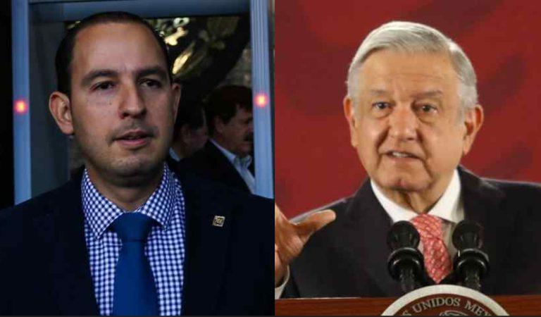 Marko Cortés acusa a AMLO de no apoyar a gobernadores y alcaldes del PAN por Covid-19