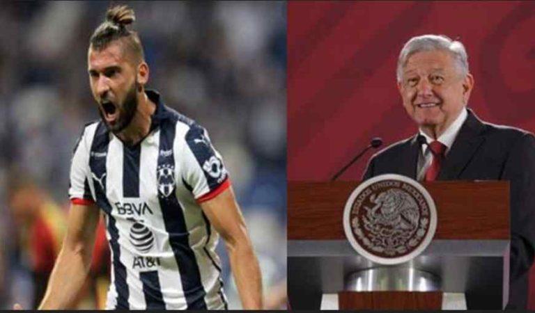 AMLO es un inconsciente total: futbolista de Monterrey