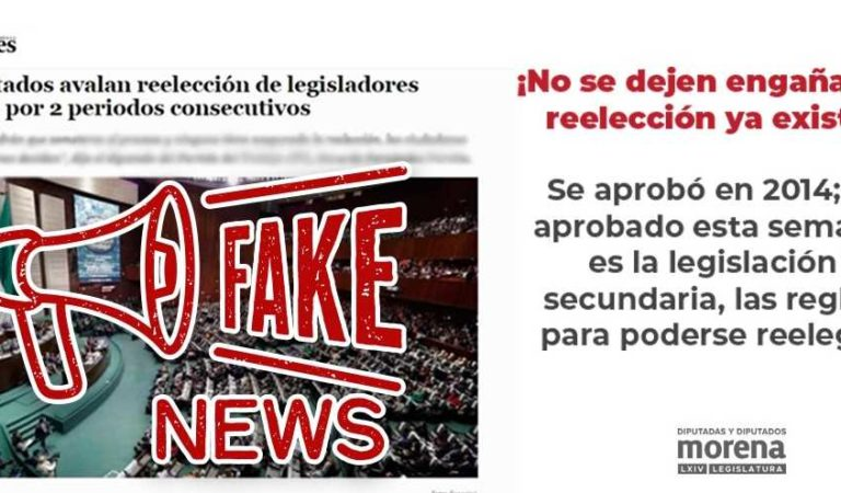Tatiana Clouthier exhibe Fake News sobre reelección de diputados; ya existe desde 2014