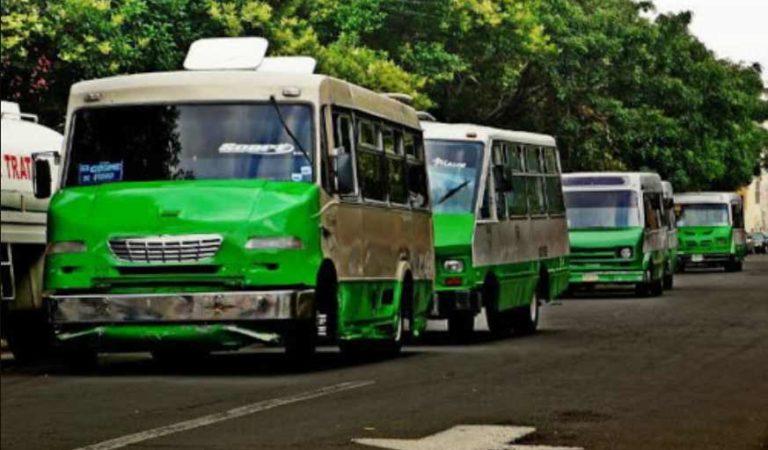 Anuncia gobierno de la CDMX 'bonos de combustible' para chóferes de microbuses y autobuses