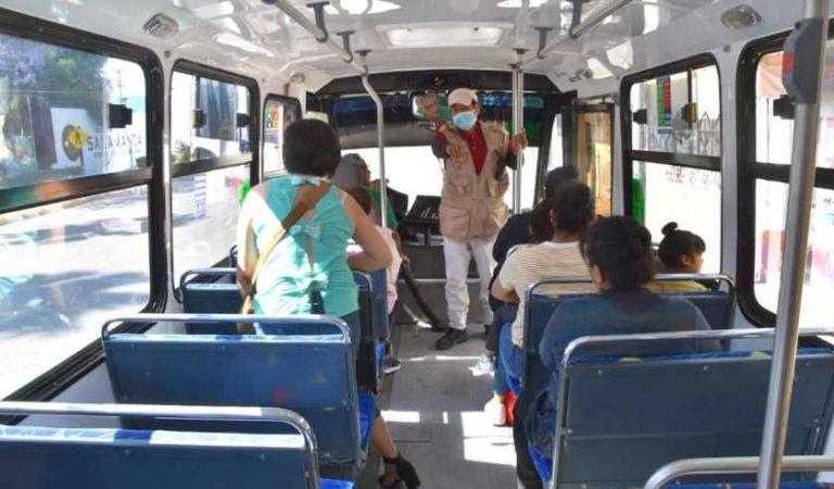 UNAM recomiendan usar cubreboca en transporte público por coronavirus