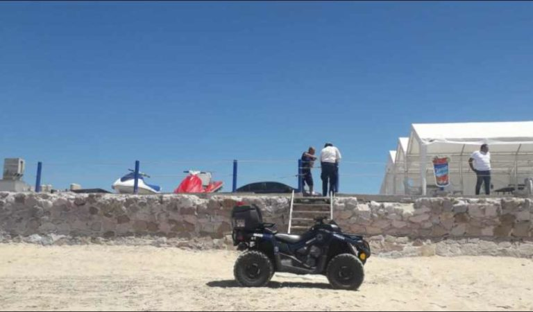 Mil 200 elementos vigilarán para que nadie entre a playas de Mazatlán ante COVID-19