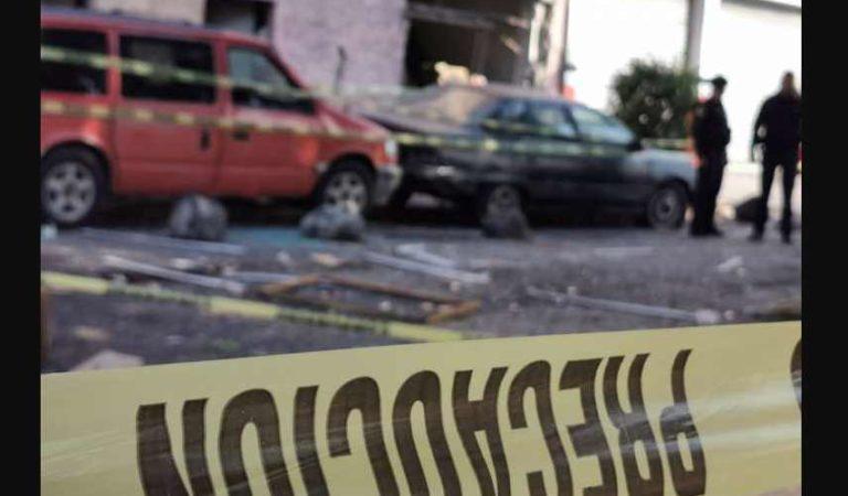 Reportan fuerte explosión en una casa de la GAM