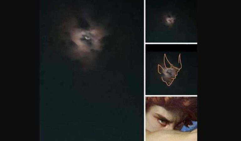 Supuesta imagen de 'Lucifer' aparece en el cielo de madrugada, causa terror   MEMES