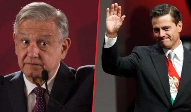 Peña Nieto benefició a empresa ligada a su familia con 12 mil mdp; AMLO pide revisar contratos