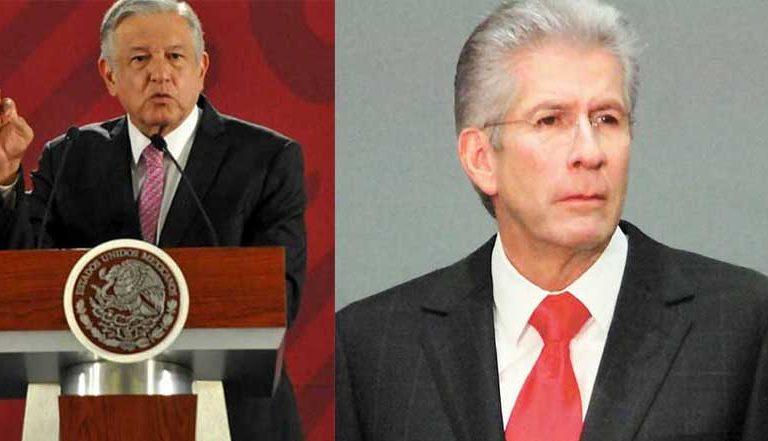 López Obrador lamenta muerte de Gerardo Ruiz Esparza (video)