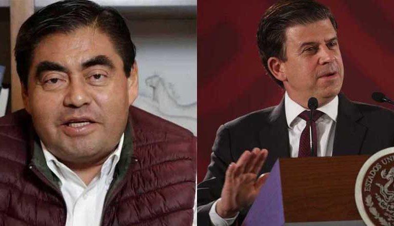 """Miguel Barbosa llama """"chocante"""" a Ricardo Sheffield tras no atender sus llamadas telefónicas (video)"""