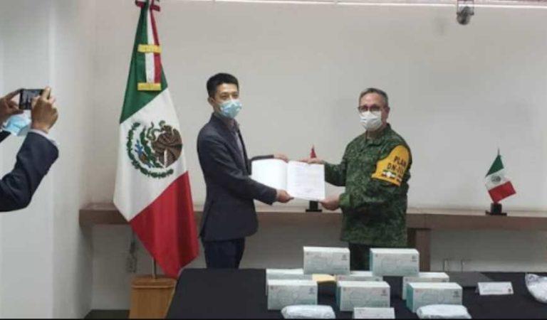 Huawei se solidariza con México; dona más de 10 mil cubrebocas