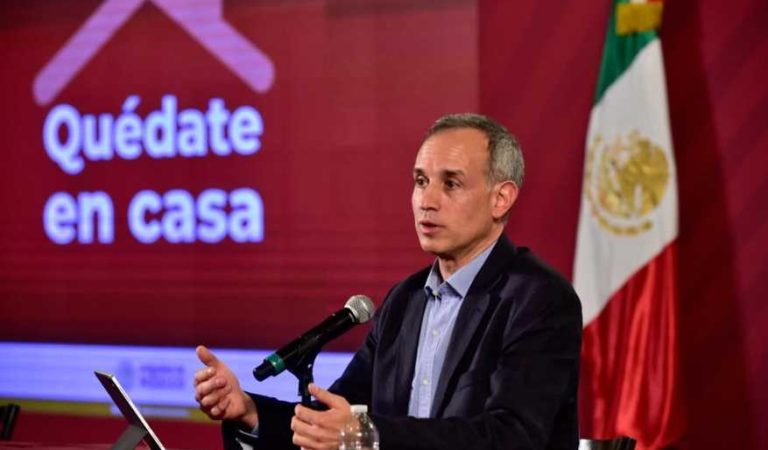 """Covid-19: en CDMX, Guadalajara y Monterrey epidemia podría extenderse hasta octubre"""": López-Gatell"""