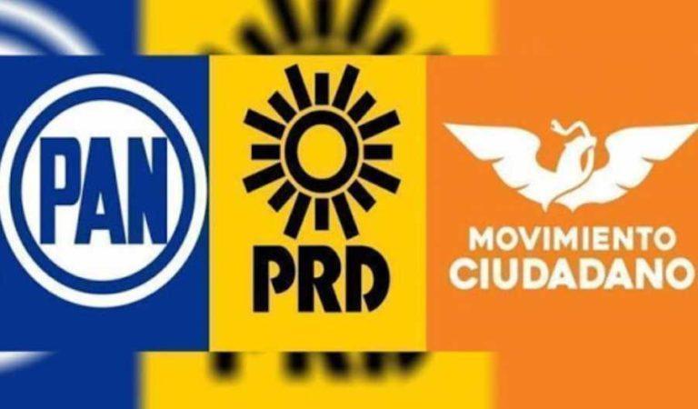 PAN, PRD y MC se niegan rotundamente renunciar 50% del dinero público para frenar el Covid-19
