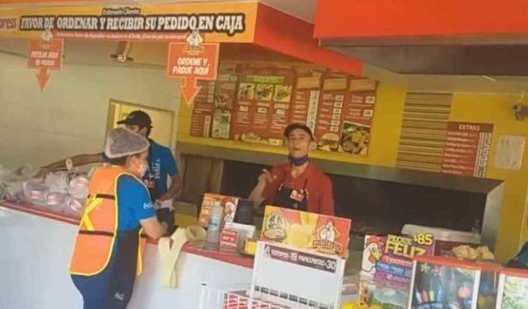 Pollo Feliz en Chihuahua niega servicio a personal de salud (Video)