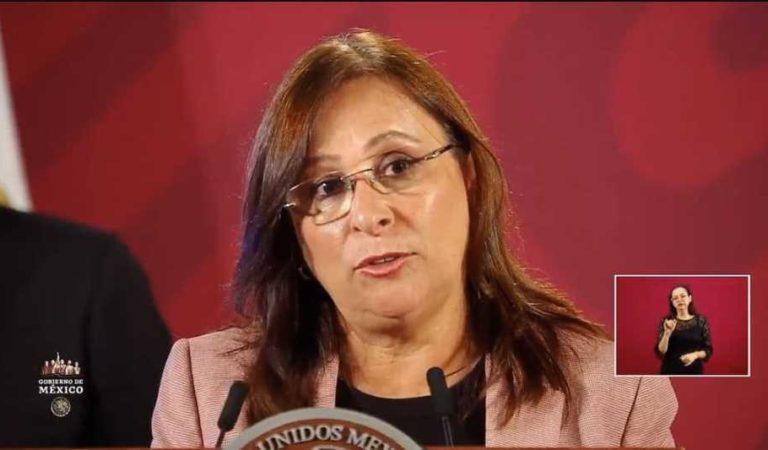 PRD acusa de traición a la patria a Rocío Nahle y exigen su renuncia