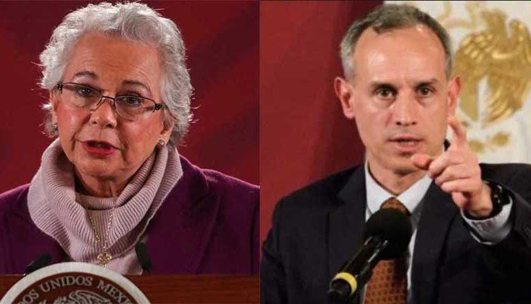 Sánchez Cordero respalda a López Gatell: sigamos las indicaciones del subsecretario de Salud