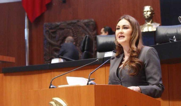 Senadora donará su salario para enfrentar el Covid-19