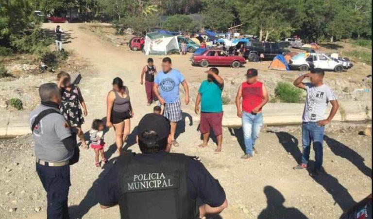 Desalojan a medio centenar de vacacionistas de río en Colima