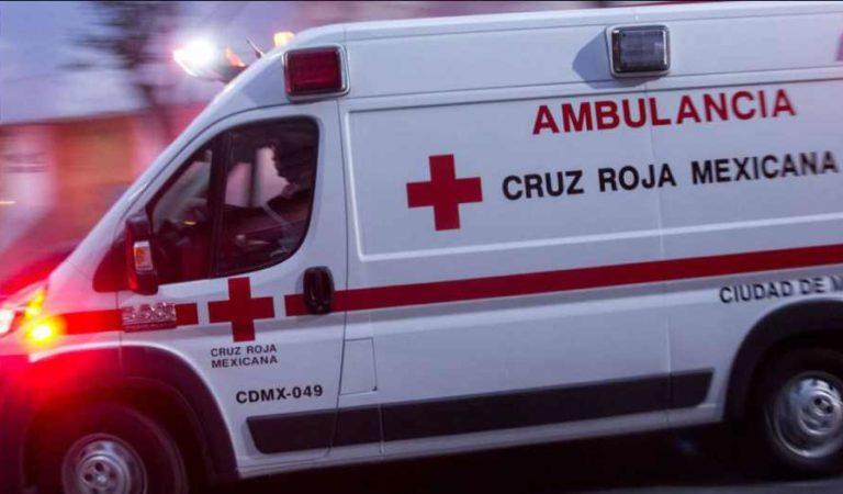 Agreden y amenazan a personal de Cruz Roja en Edomex