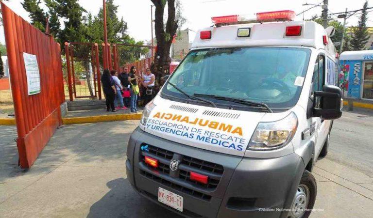 Asaltan a paramédicos en Iztapalapa; iban por paciente con coronavirus