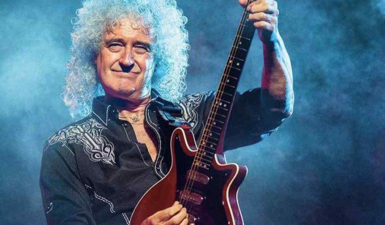 Hospitalizan a Brian May, guitarrista de Queen tras infarto