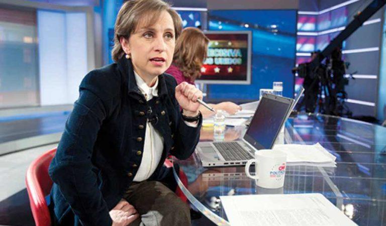 Carmen Aristegui aclara que el padre de su hijo no es Emilio Zebadúa, tras ataque en redes