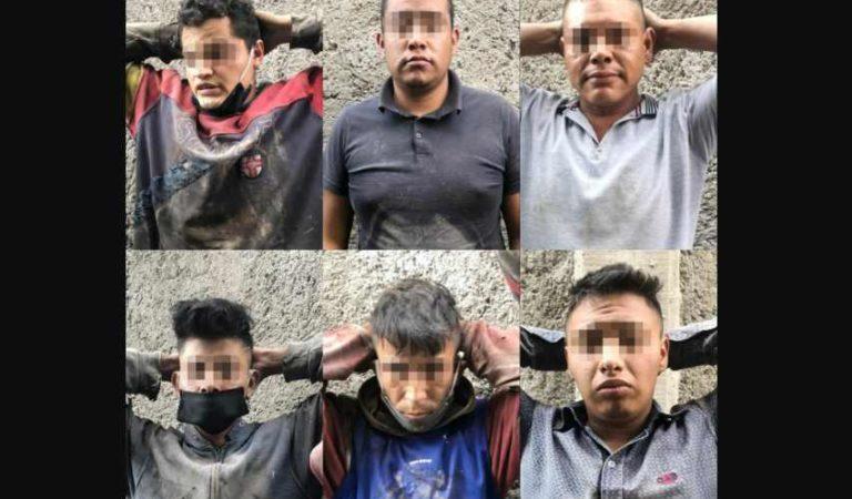 Detienen a 11 sujetos por saqueo a un domicilio en Ecatepec