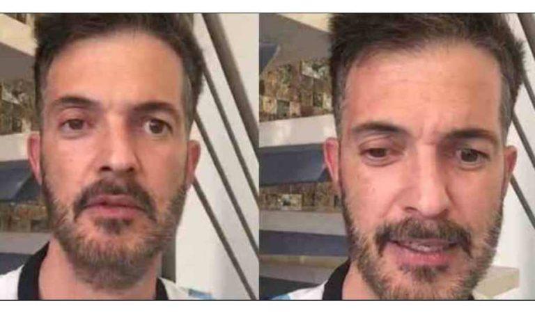 Fernando del Solar reaparece en redes sociales y preocupa a sus fans por su nueva apariencia